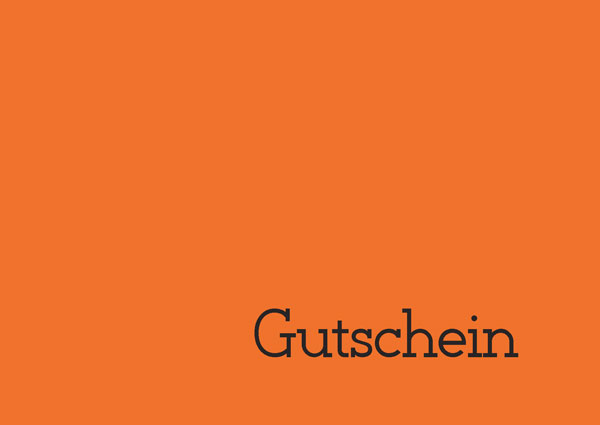 Gutschein pep.up 1 orange