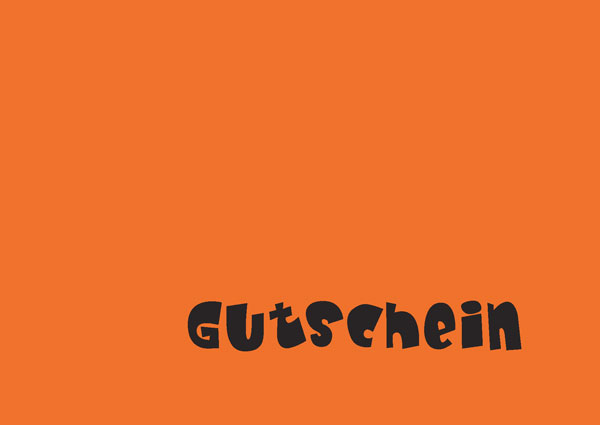 Gutschein pep.up 2 orange